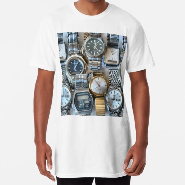 Watch the time please! Long T-Shirt