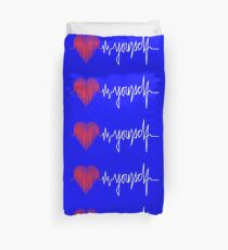 love yourself - zachary martin Duvet Cover