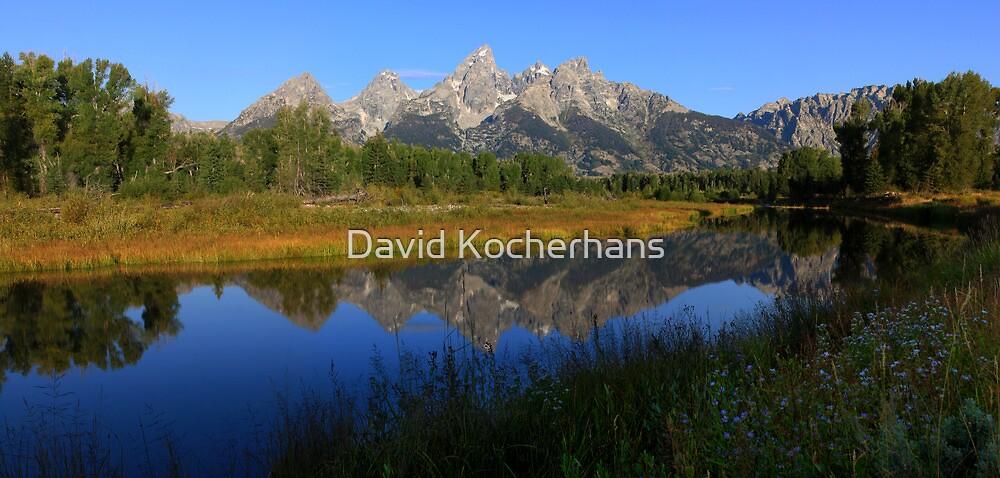 Teton Panorama by David Kocherhans