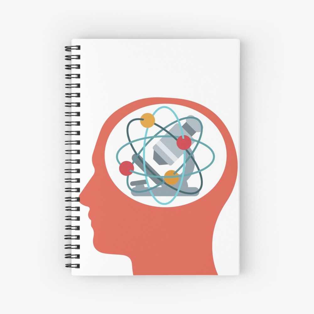 Mind Your Science! Spiral Notebook