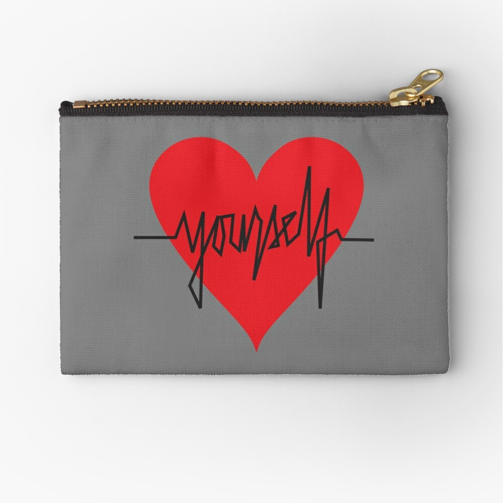 love yourself - zachary martin Zipper Pouch
