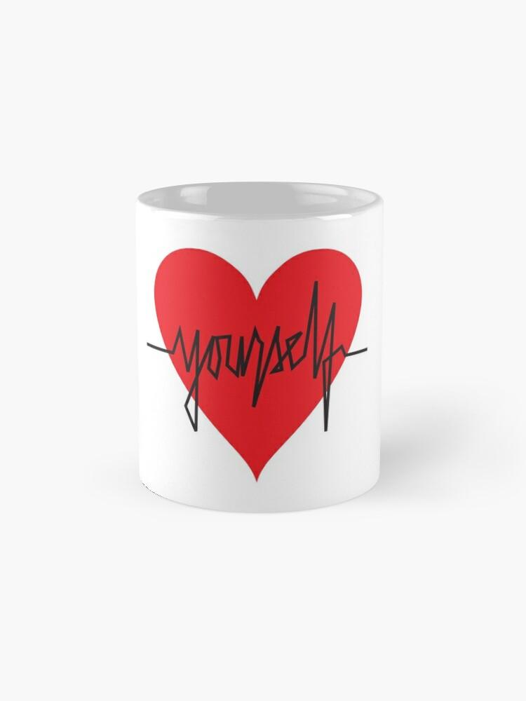 Alternate view of love yourself - zachary martin Mug