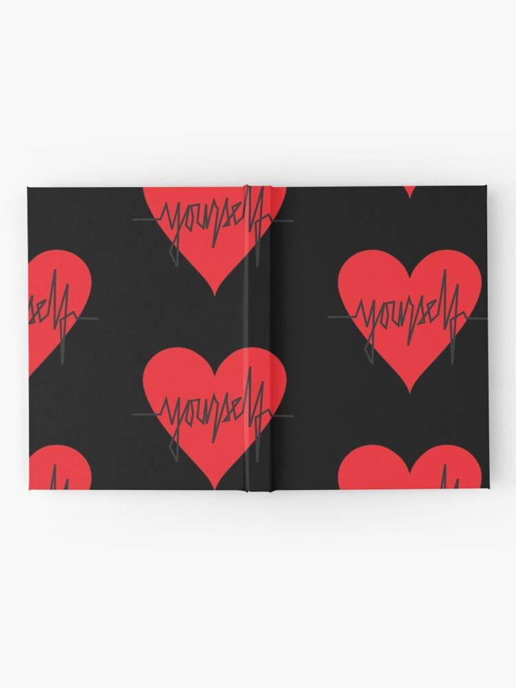 Alternate view of love yourself - zachary martin Hardcover Journal