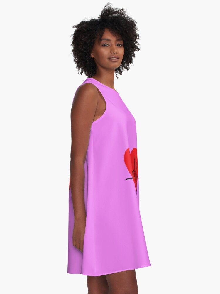Alternate view of love yourself - zachary martin A-Line Dress