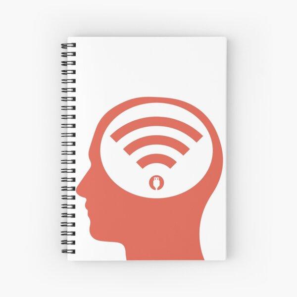 Mind Your Technology Spiral Notebook