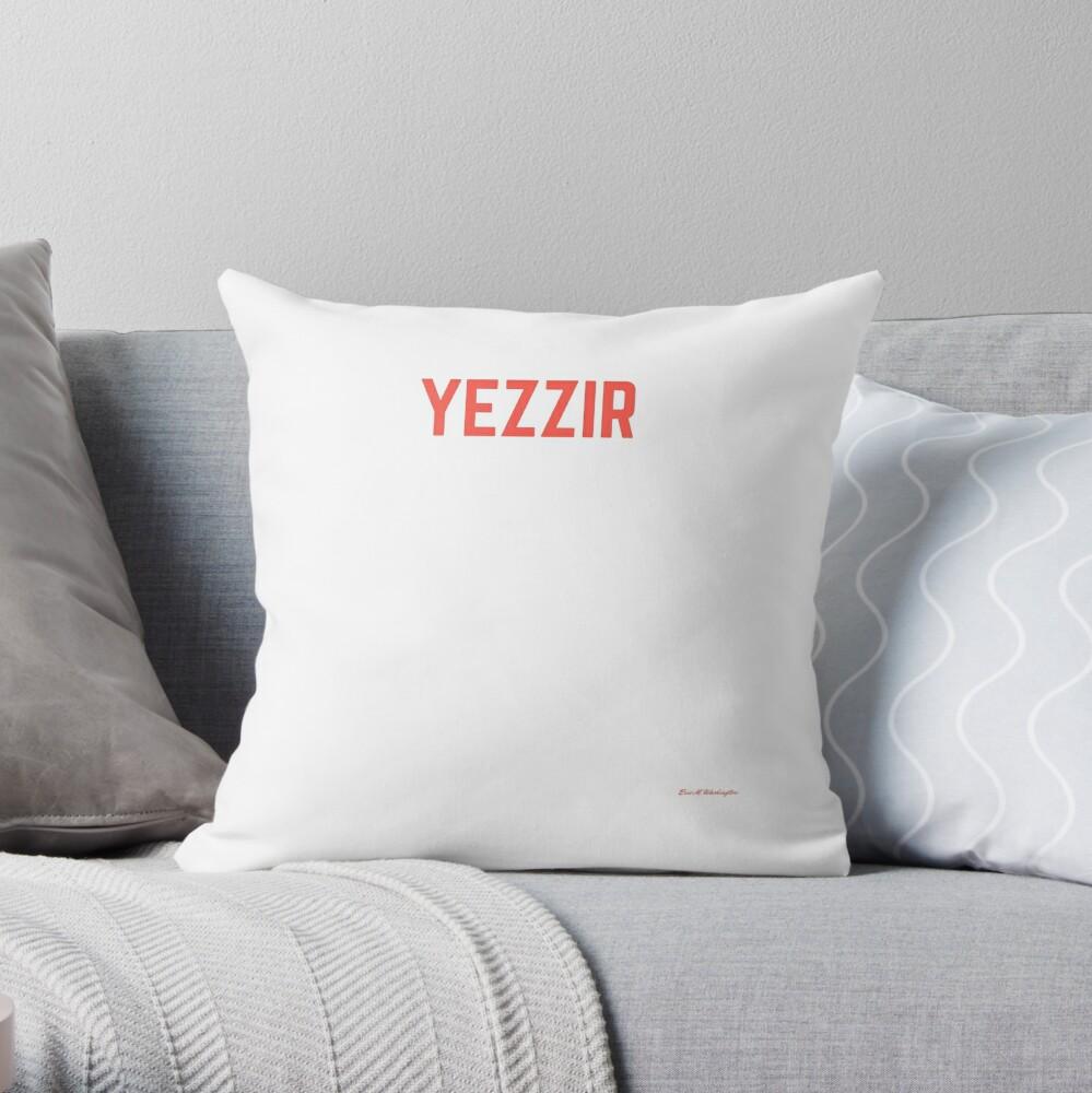 yezzir Throw Pillow