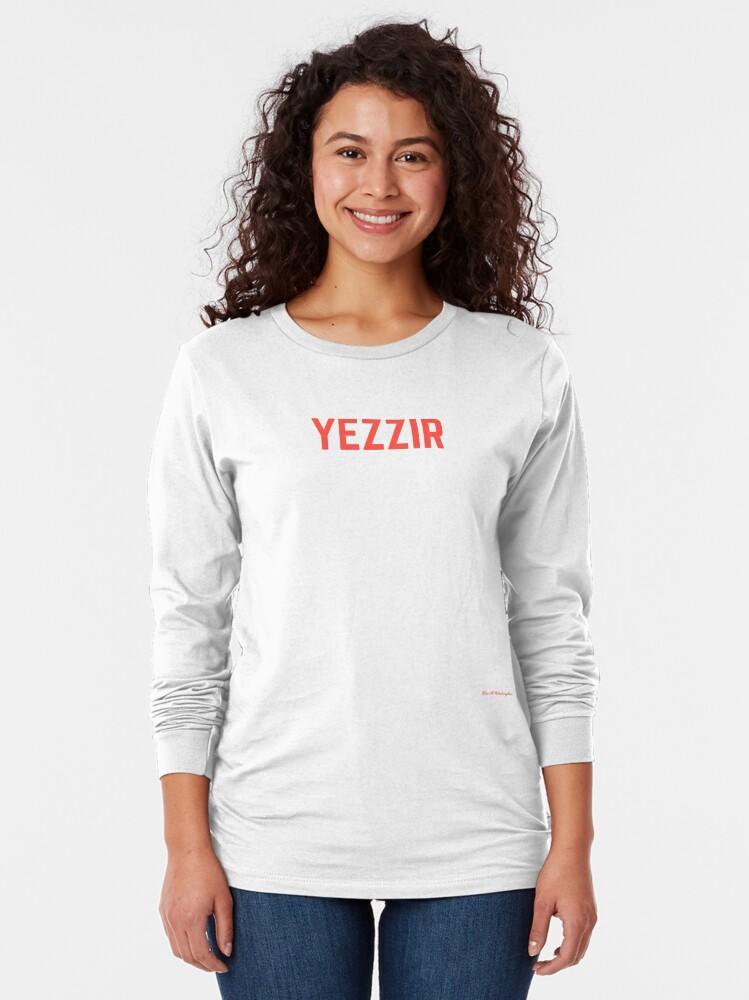 Alternate view of yezzir Long Sleeve T-Shirt