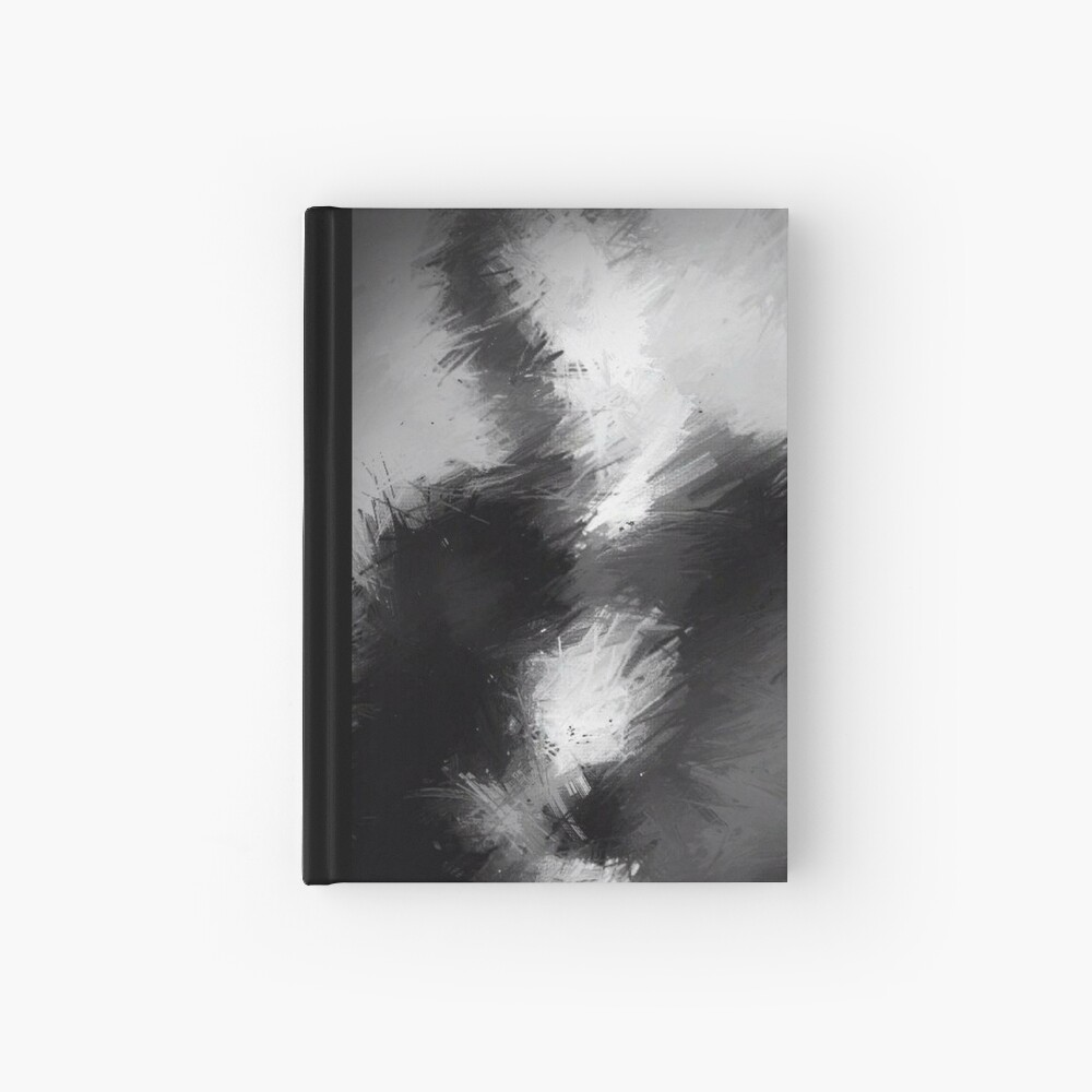 The Abstract Washington Hardcover Journal