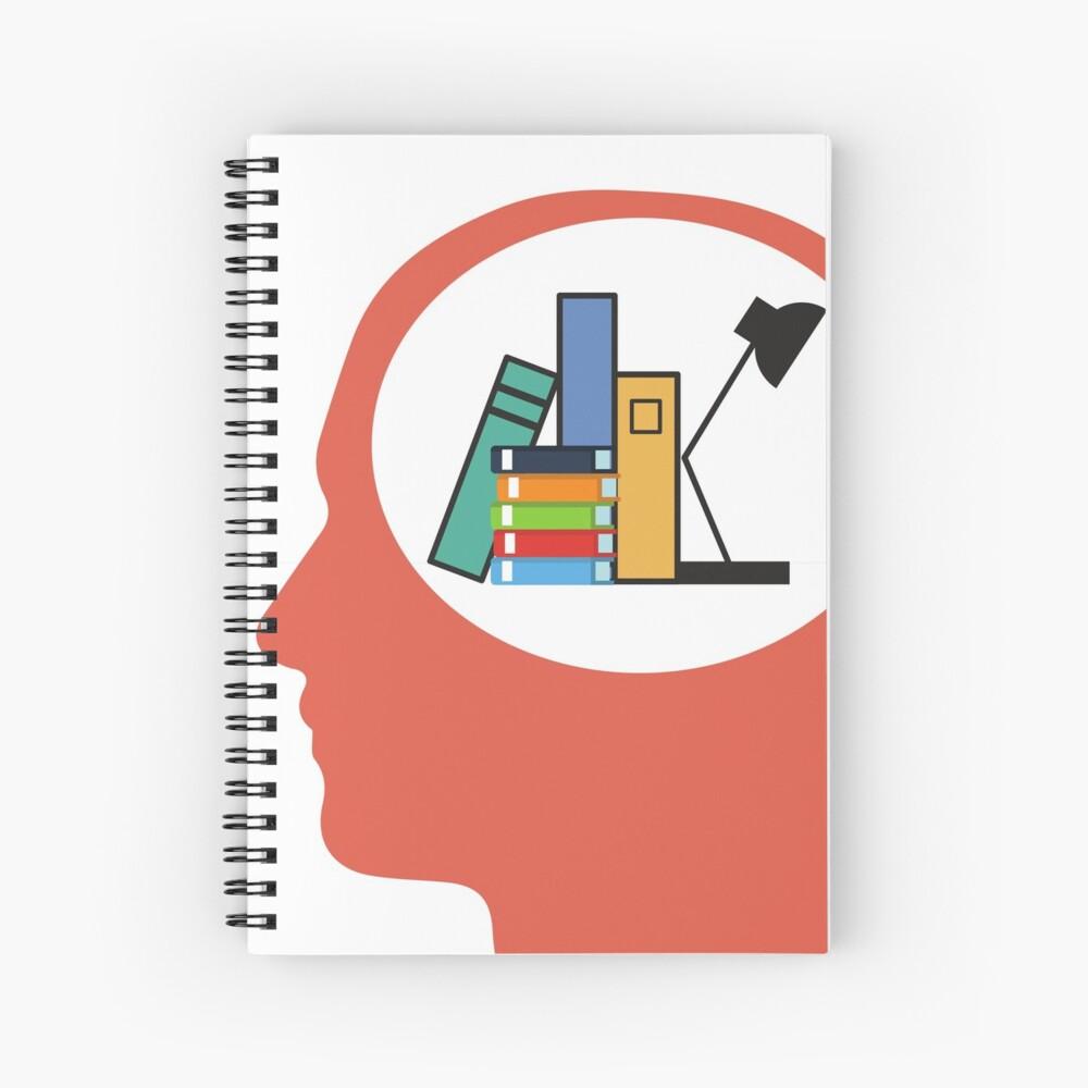Mind Your Literature! Spiral Notebook