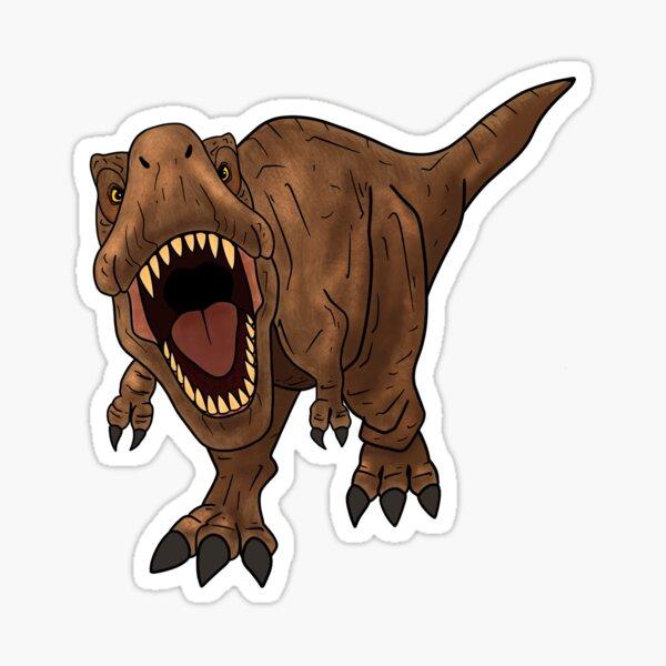 Roaring Rex Sticker