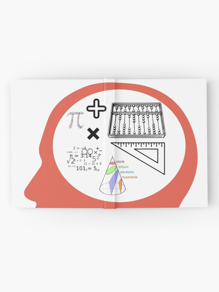 Alternate view of Mind Your Math! Hardcover Journal