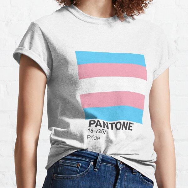 PANTONE PRIDE - TRANS Classic T-Shirt