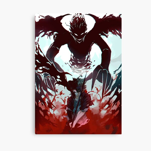 Asta Demon Antimagic Impression sur toile