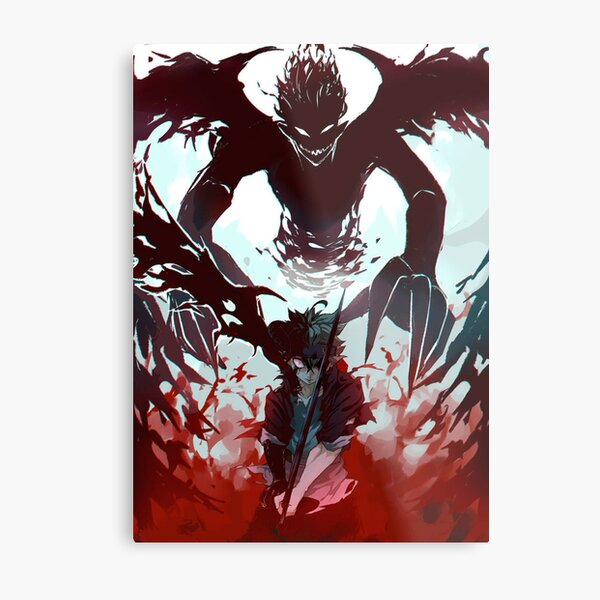 Demon antimagic Asta Metal Print