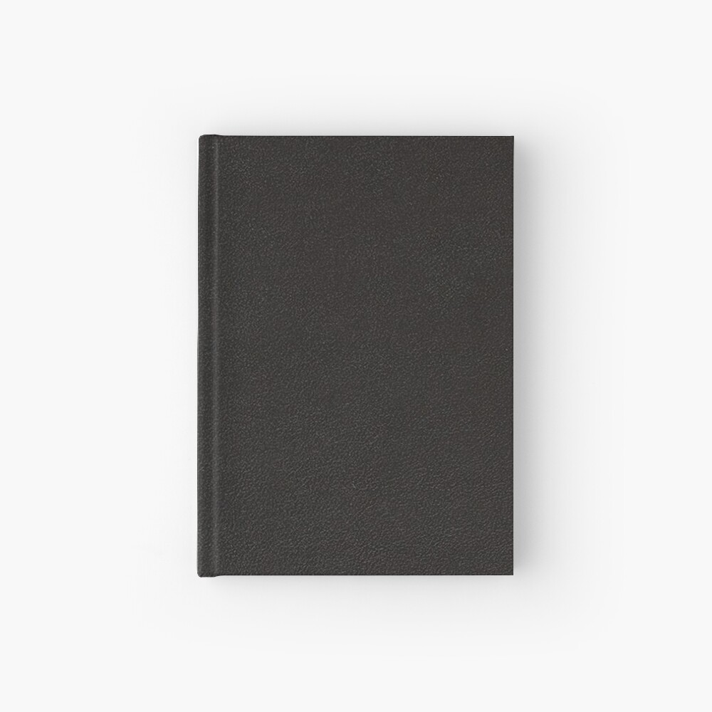 Black Vianel Hardcover Journal