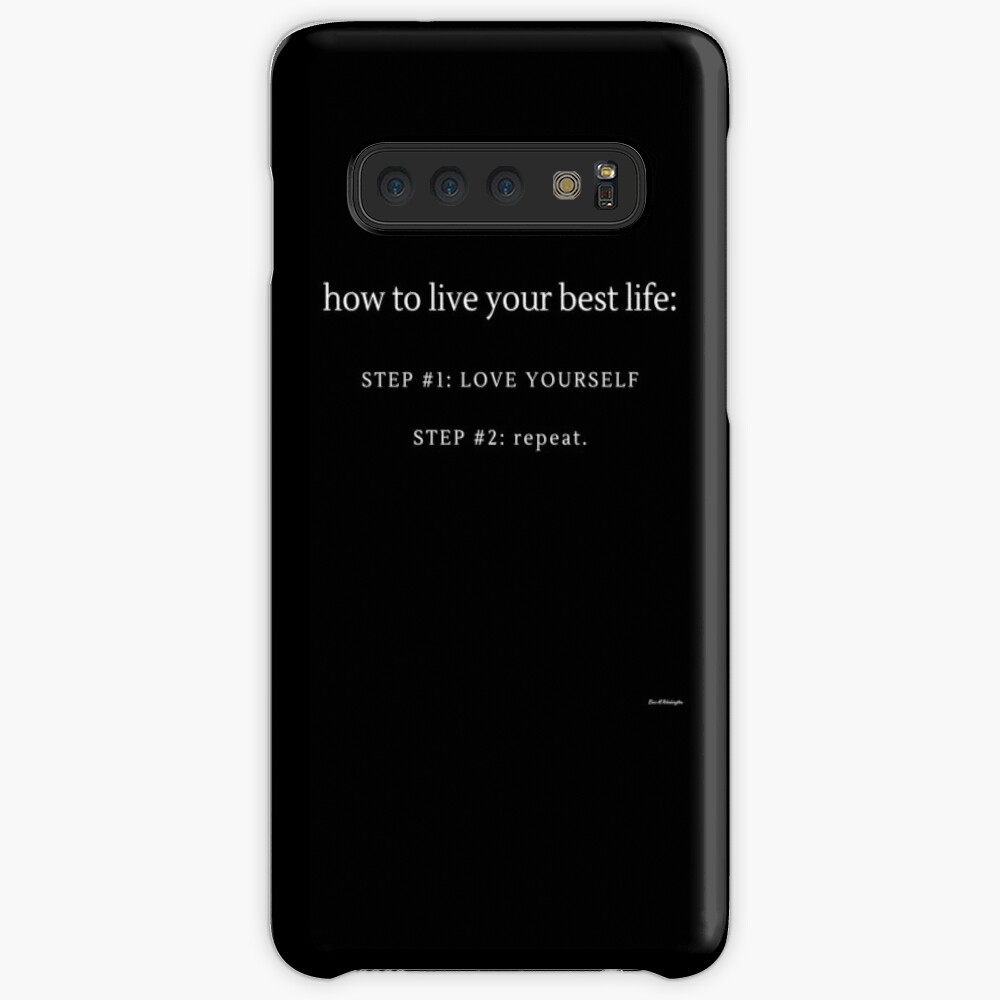 LOVE YOURSELF #3 Case & Skin for Samsung Galaxy