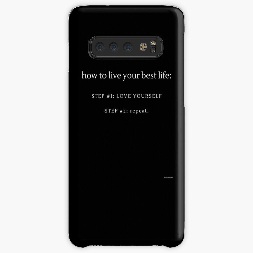 LOVE YOURSELF #3 Case & Skin for Samsung Galaxy