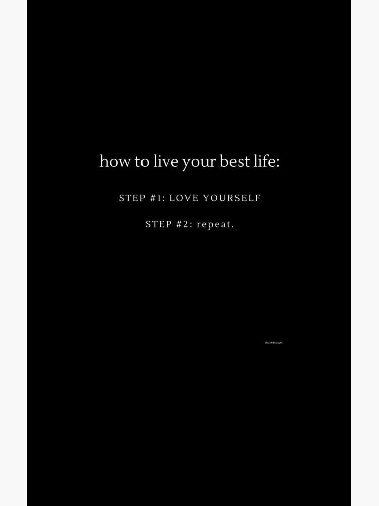 LOVE YOURSELF #3 by EWashMedia