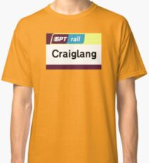 Craiglang Station Sign Classic T-Shirt
