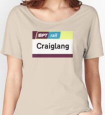 Craiglang Station Sign Women's Relaxed Fit T-Shirt