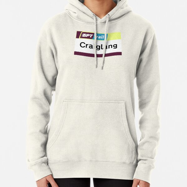 Craiglang Station Sign Pullover Hoodie