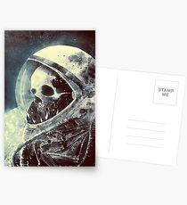 Der Astronaut Postkarten