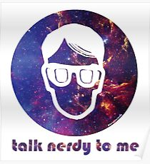 NERDY TALK ― for her Poster