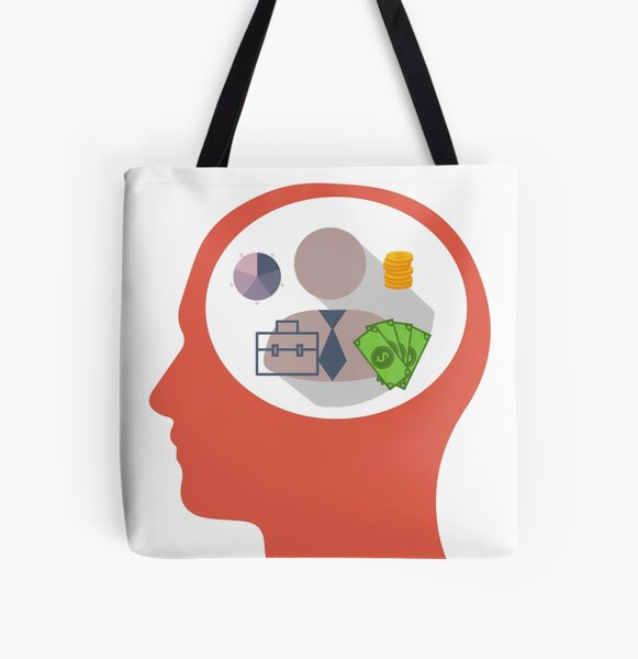 Mind Your Business All Over Print Tote Bag
