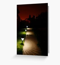 The Night Calls to me Greeting Card