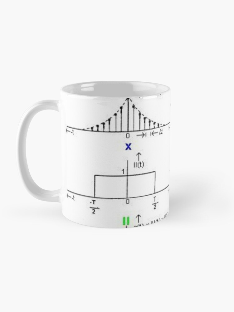 Alternate view of #Discrete #Fourier #Transform. #Diagram, graph, formula, chalk out, illustration, physics, graph plot, symbol, guidance, draft, sketch, science, research, scientific experiment Mug