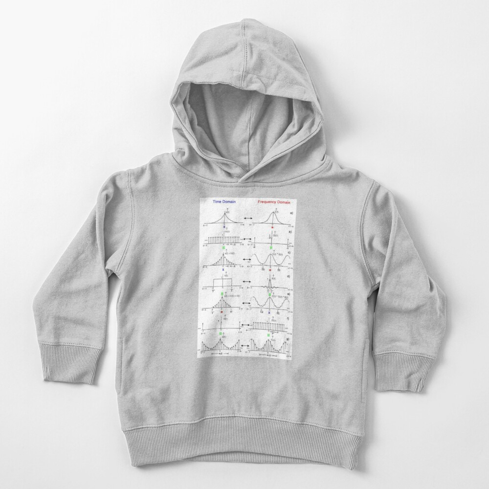 #Discrete #Fourier #Transform. #Diagram, graph, formula, chalk out, illustration, physics, graph plot, symbol, guidance, draft, sketch, science, research, scientific experiment Toddler Pullover Hoodie