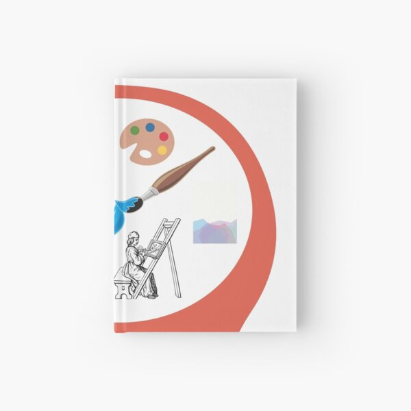 Mind Your Artist! Hardcover Journal