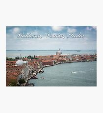 A View of Guidecca, Venice, Italy Photographic Print