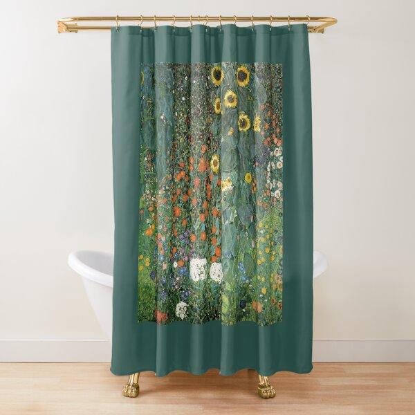 Gustav Klimt - The Sunflower Shower Curtain