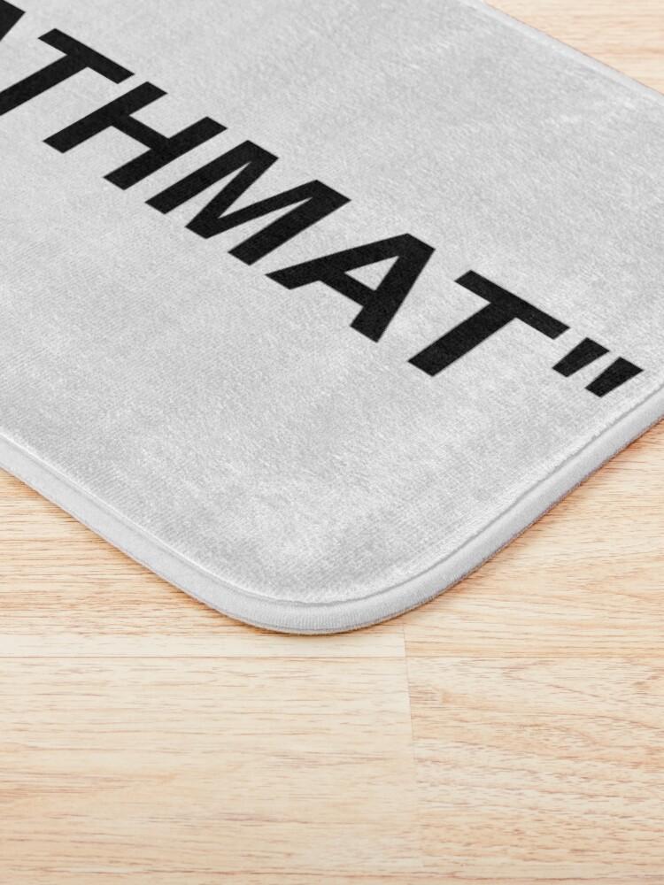 Alternate view of Bathmat Quotation Marks Bath Mat