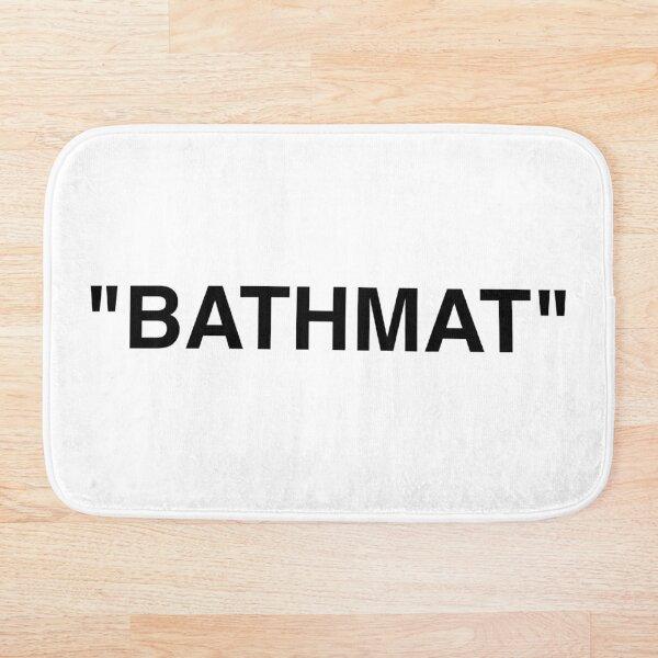 Bathmat Quotation Marks Bath Mat