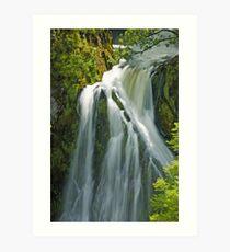 Slow Waterfall Art Print
