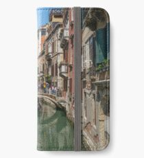 Canal Views of Venice iPhone Wallet/Case/Skin