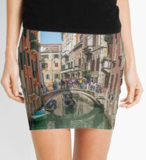 Canal Views of Venice Mini Skirt