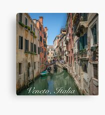 Canal Views of Venice Canvas Print