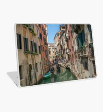 Canal Views of Venice Laptop Skin