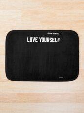 LOVE YOURSELF #2 Bath Mat