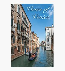 Views of Venice Photographic Print