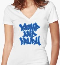 Stomp and Crush - 2015 - Blue Fitted V-Neck T-Shirt