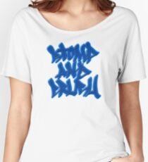 Stomp and Crush - 2015 - Blue Relaxed Fit T-Shirt