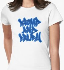 Stomp and Crush - 2015 - Blue Fitted T-Shirt