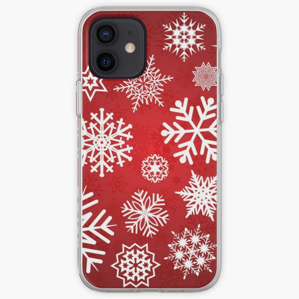 Christmas Snowflakes iPhone Soft Case