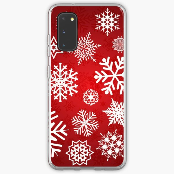 Christmas Snowflakes Samsung Galaxy Soft Case