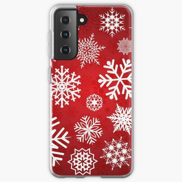 Christmas Snowflakes Samsung Galaxy Soft Case