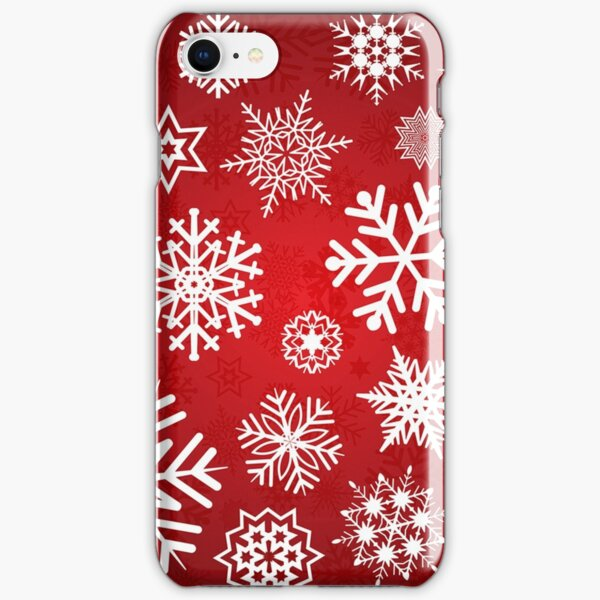 Christmas Snowflakes iPhone Snap Case